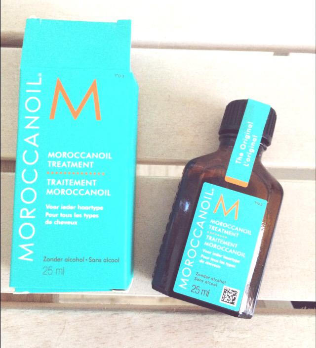 Moroccanoil olie