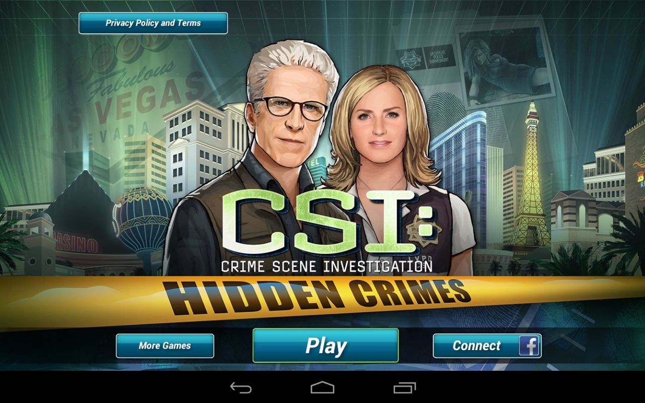 CSI hidden crimes