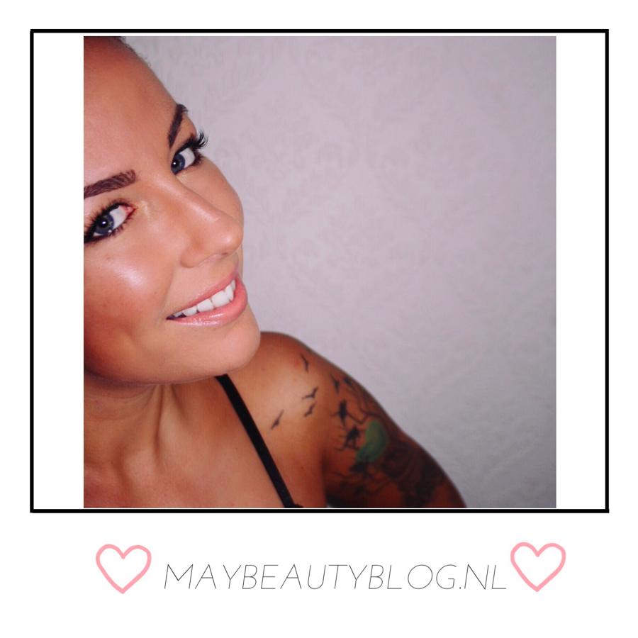 MAC Coral bliss lipstick & foundation & Strobe