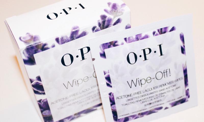 Opi wipe off