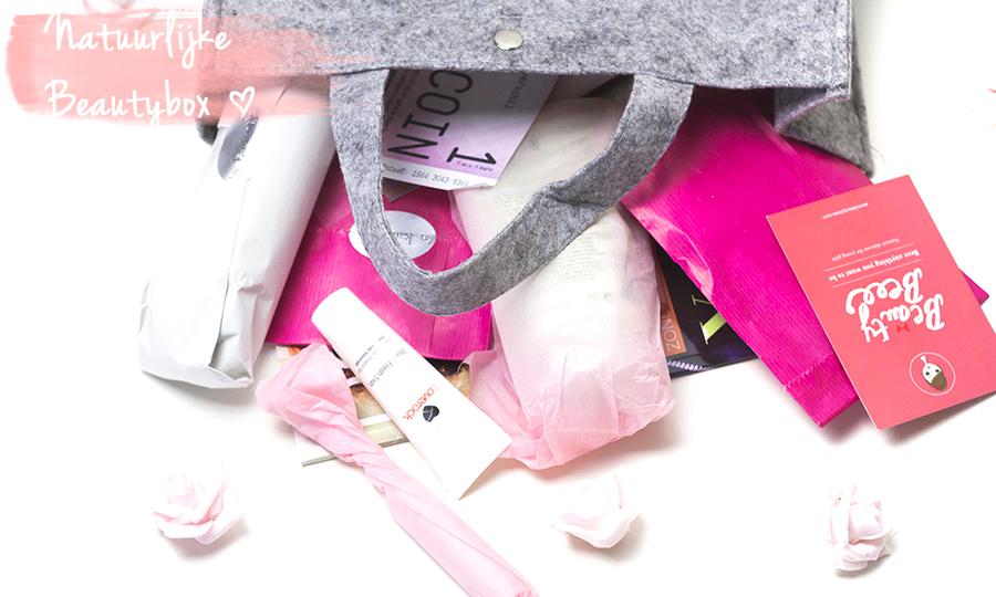 Uniek in NL: Maandelijkse 'Natuurlijke' Beautybox