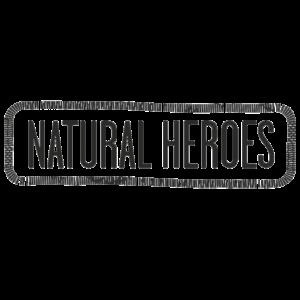 Natural heroes logo
