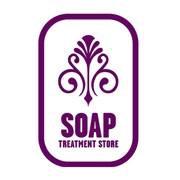 Soap treatment soap logo
