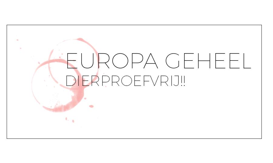 EUROPA GEHEEL PROEFDIERVRIJ!