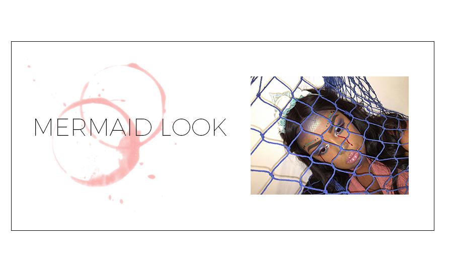MERMAID LOOK BY MAXINE EVA