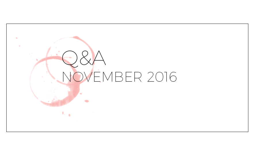 Q&A November