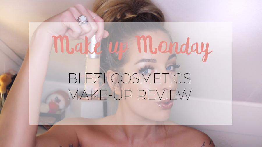 MAKE-UP MONDAY: BLÈZI COSMETICS
