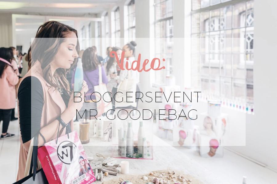 VIDEO: BLOGGERSEVENT VAN MR. GOODIEBAG