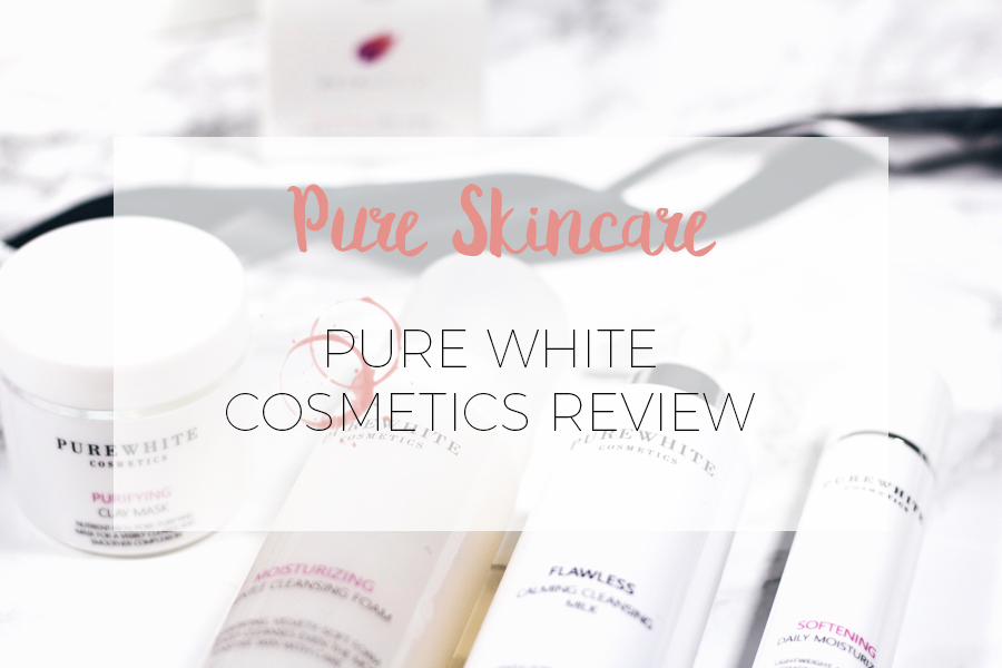PURE WHITE COSMETICS REVIEW