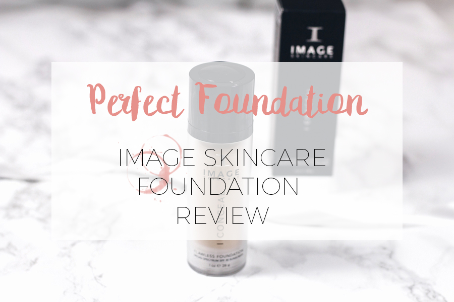 FLAWLESS FOUNDATION: IMAGE SKINCARE REVIEW