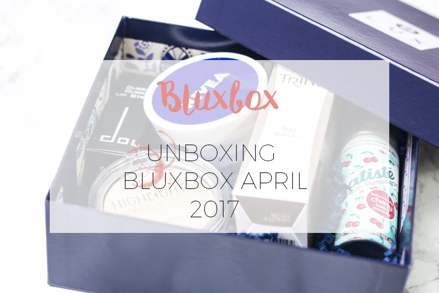UNBOXING BLUXBOX APRIL 2017