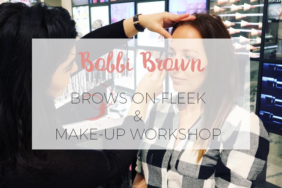 BOBBI BROWN MAKE-UP WORKSHOP @ DE BIJENKORF