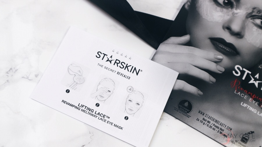 EYE LACE MASK VAN STARSKIN