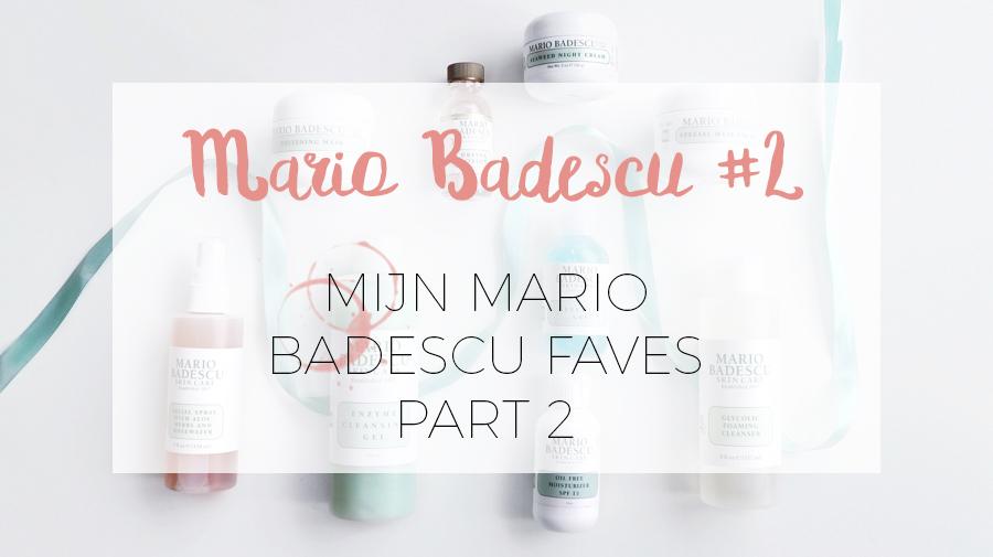 MIJN FAVO SKINCARE MERK: MARIO BADESCU