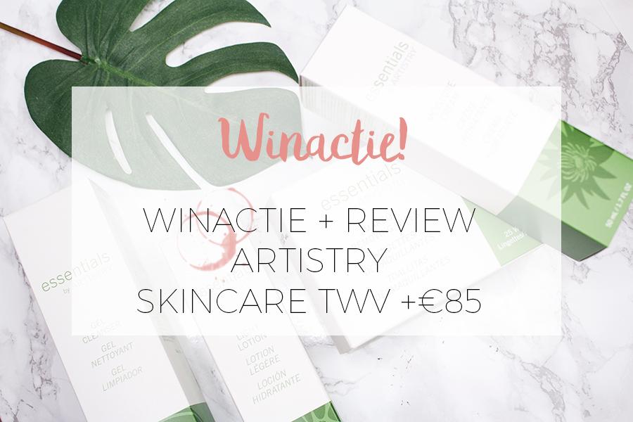 WIN WIN WIN: SKINCARE PAKKET VAN ARTISTRY TWV €85!