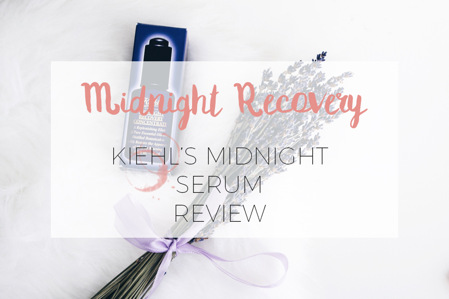 KIEHL'S POPULAIRSTE ITEM: MIDNIGHT RECOVERY CONCENTRATE