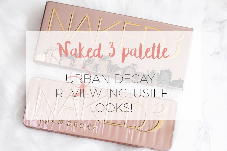 URBAN DECAY NAKED PALETTE 3 + LOOKS
