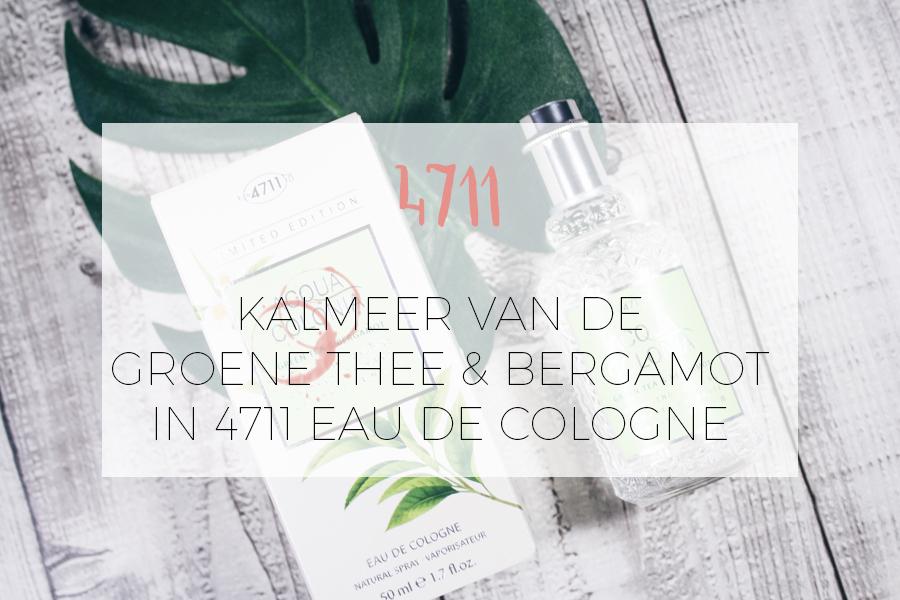 4711 COLOGNE MET GROENE THEE EN BERGAMOT
