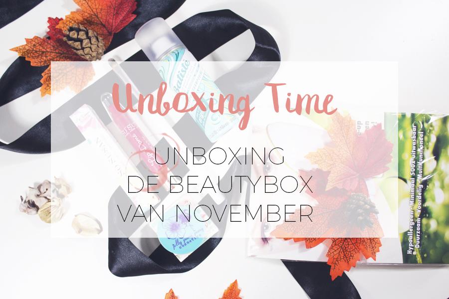 UNBOXING BEAUTYBOX NOVEMBER 2017