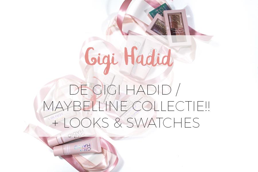 GIGI HADID x MAYBELLINE MAKE-UP REVIEW!