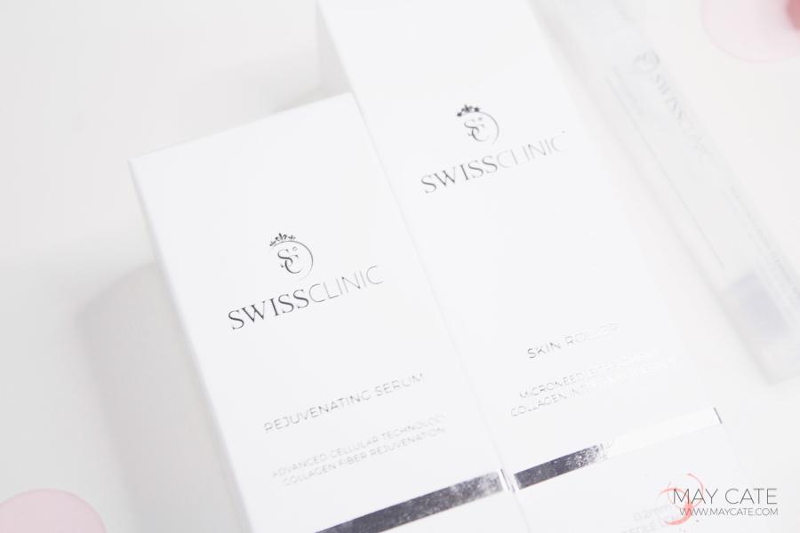 SWISS CLINIC: SKIN ROLLER REVIEW + VOOR EN NA