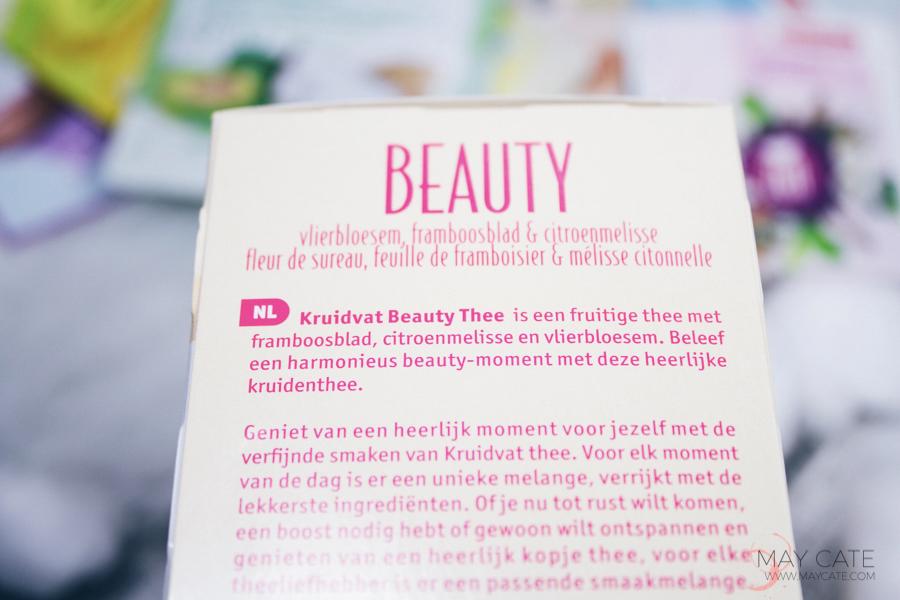 Kruidvat beauty maskers en thee