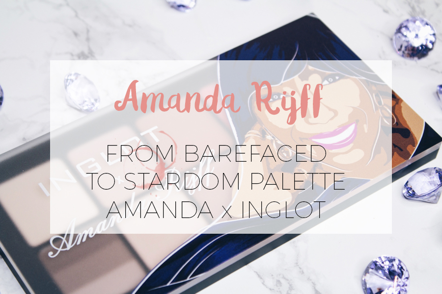 FROM BAREFACED TO STARDOM PALETTE BY AMANDA RIJFF
