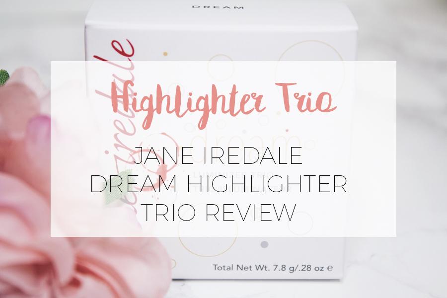 JANE IREDALE HIGHLIGHTER TRIO