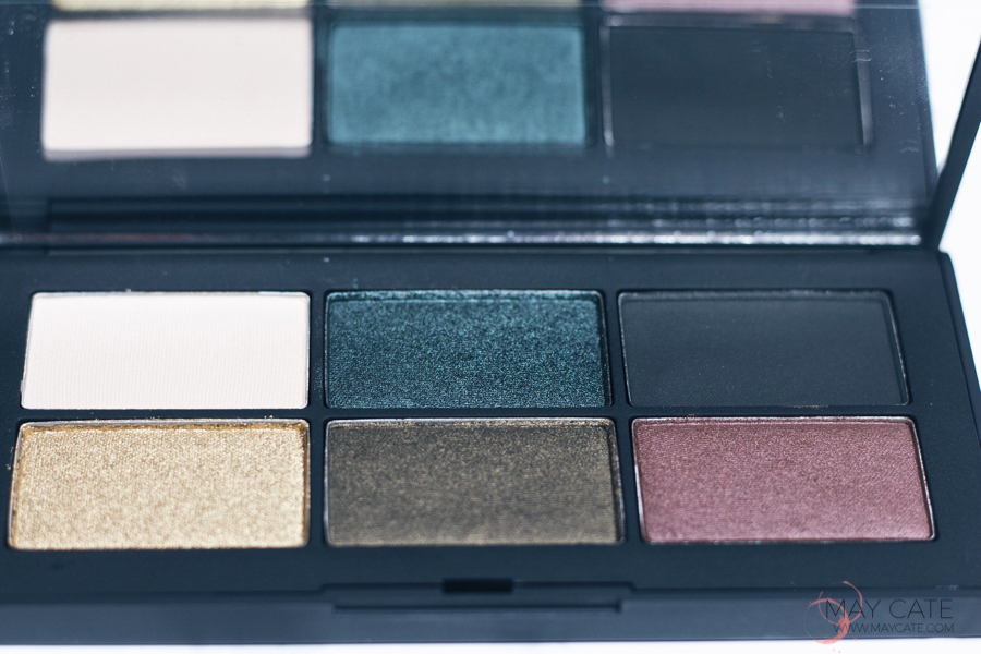 REVIEW NARS PALETTE EYESHADOW & FACE + LOOKS / SWATCHES