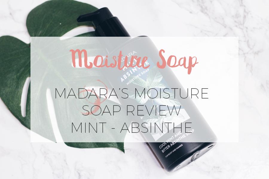 MADARA MOISTURE SOAP: REVIEW