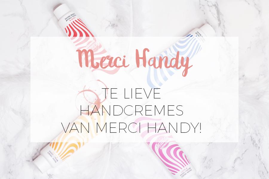 MERCI HANDY HEEFT NU OOK HANDCRÈMES!