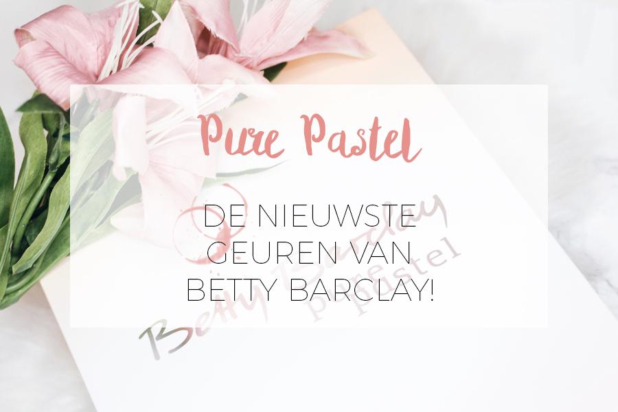 PURE PASTEL GEUREN VAN BETTY BARCLAY