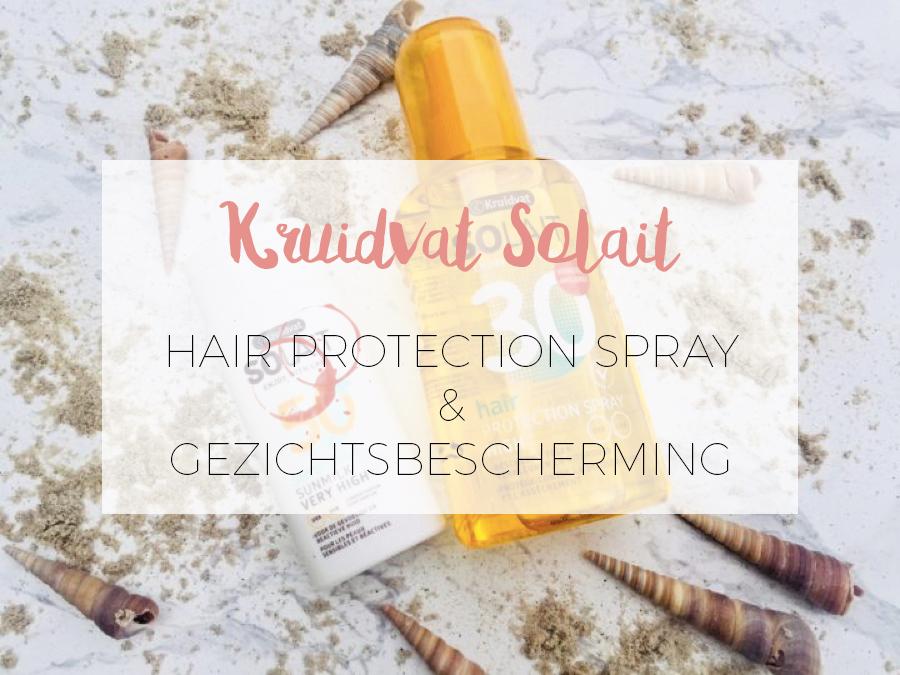 Kruidvat Solait Haar en gezicht bescherming