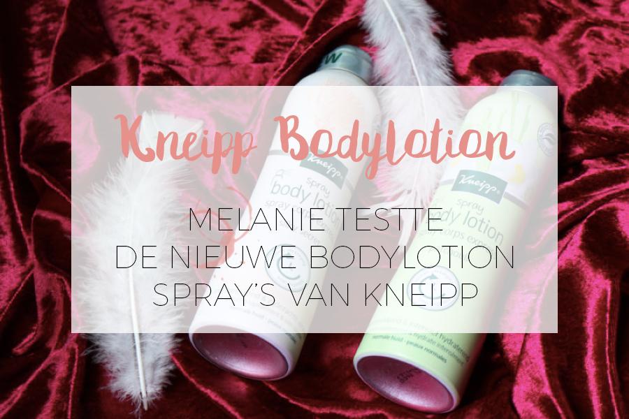 KNEIPP: BODYLOTION SPRAY'S REVIEW