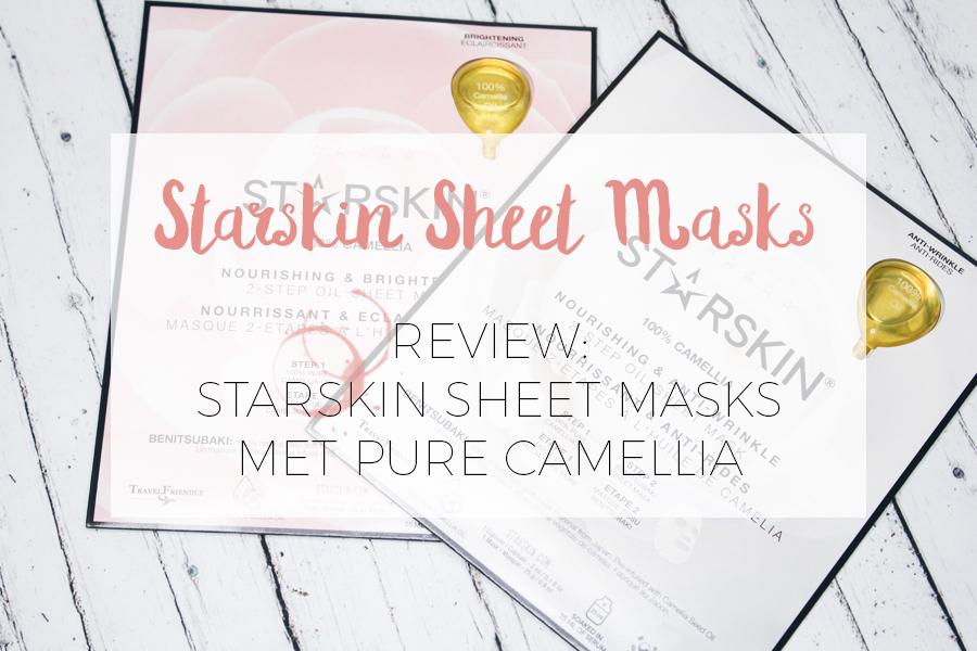 Starskin Sheet masker met camellia