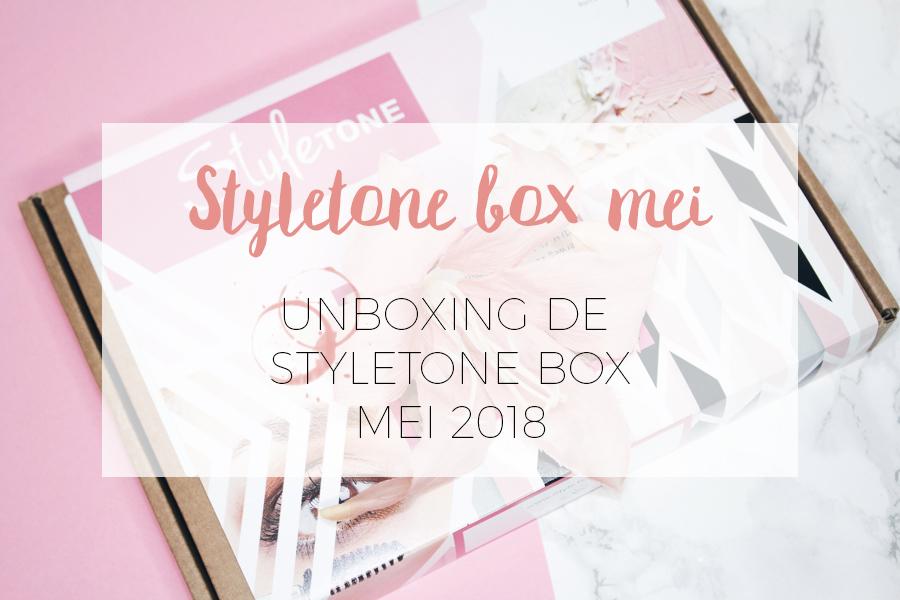 UNBOXING STYLETONE MEI BOX 2018!