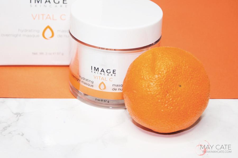 Image skincare overnight mask met vitamine c