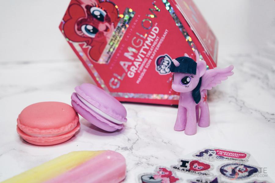Glamglow my little pony masker met glitters