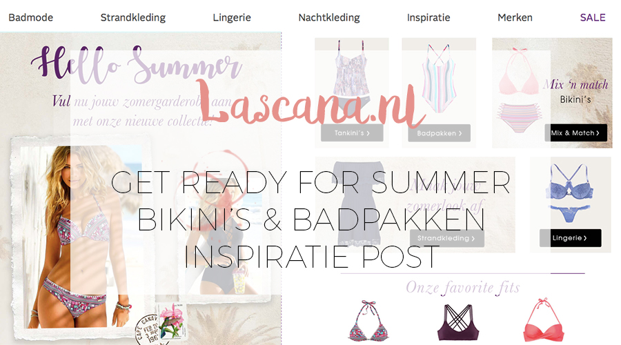 READY FOR SUMMER MET LASCANA
