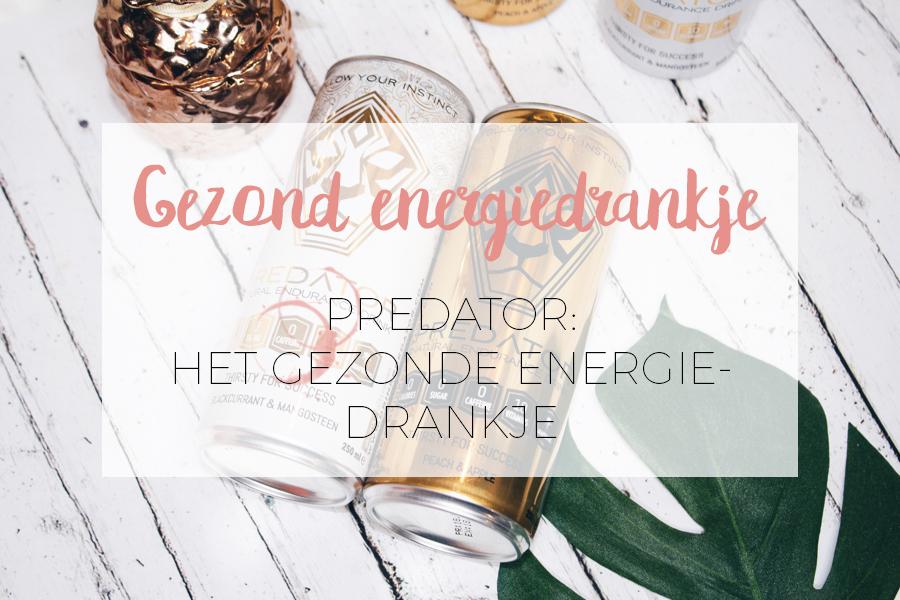 HET GEZONDE ENERGIE DRANKJE: PREDATOR