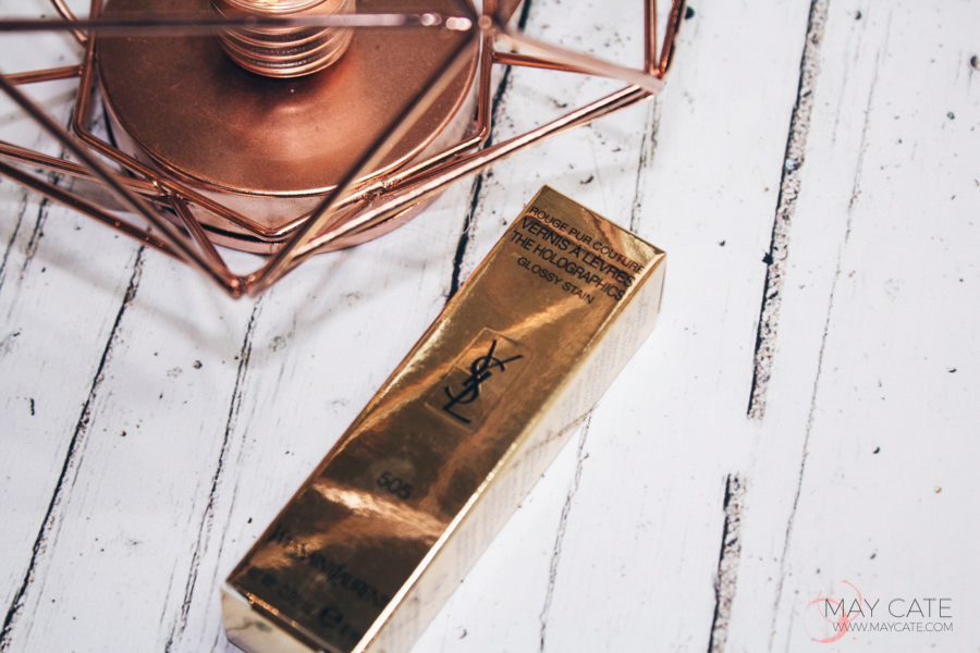 YVES SAINT LAURENT: HOLOGRAPHIC GLOSSY LIP STAIN