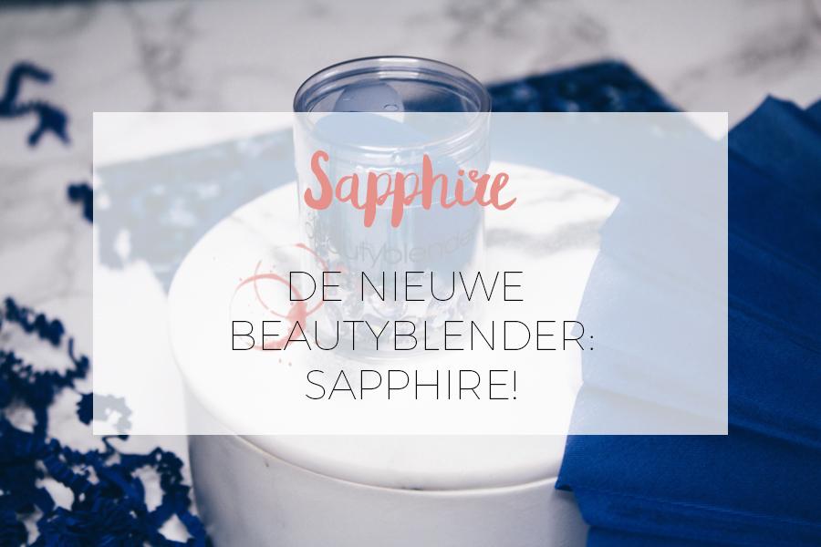 DE BEAUTYBLENDER SAPPHIRE!