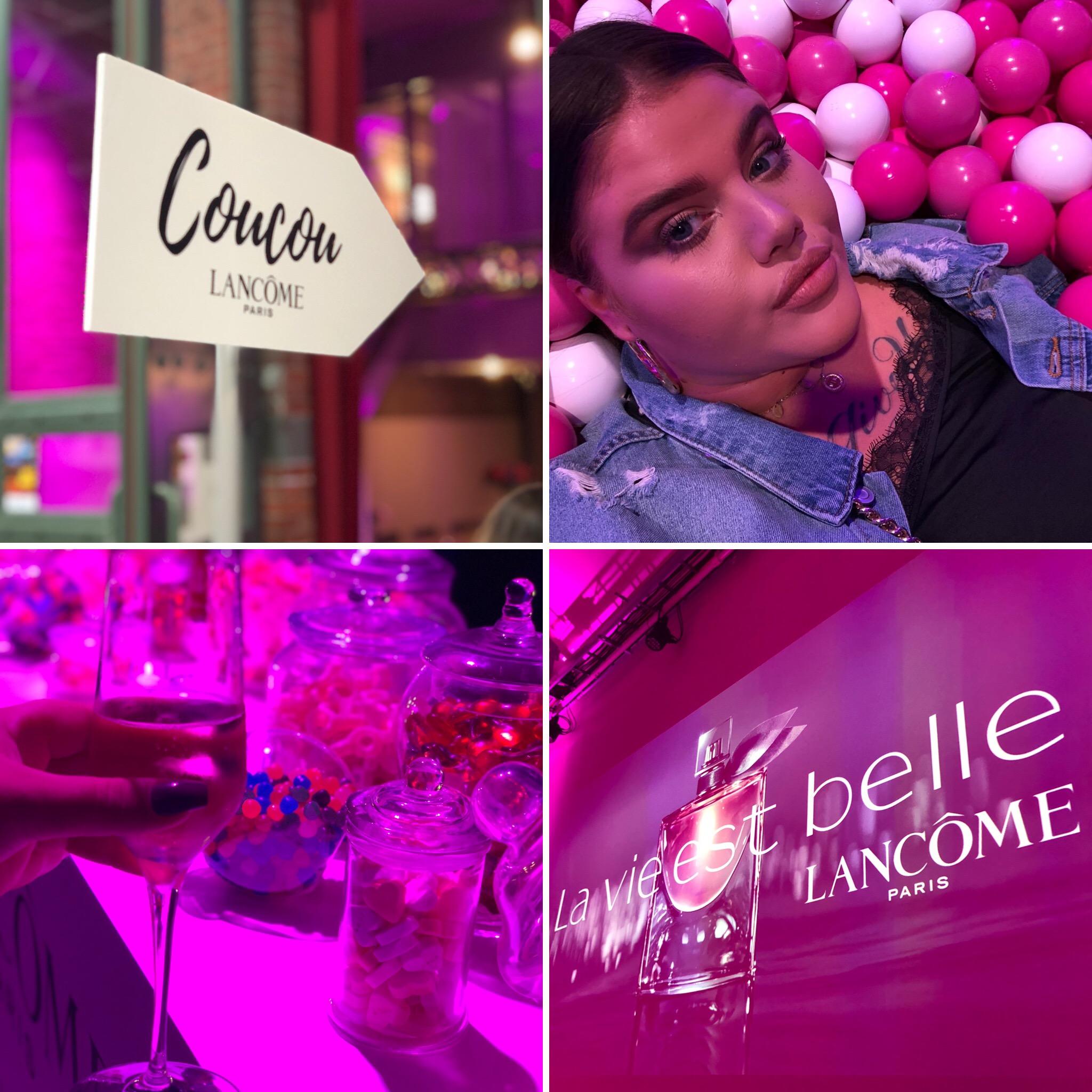 Lancome event La vie est belle