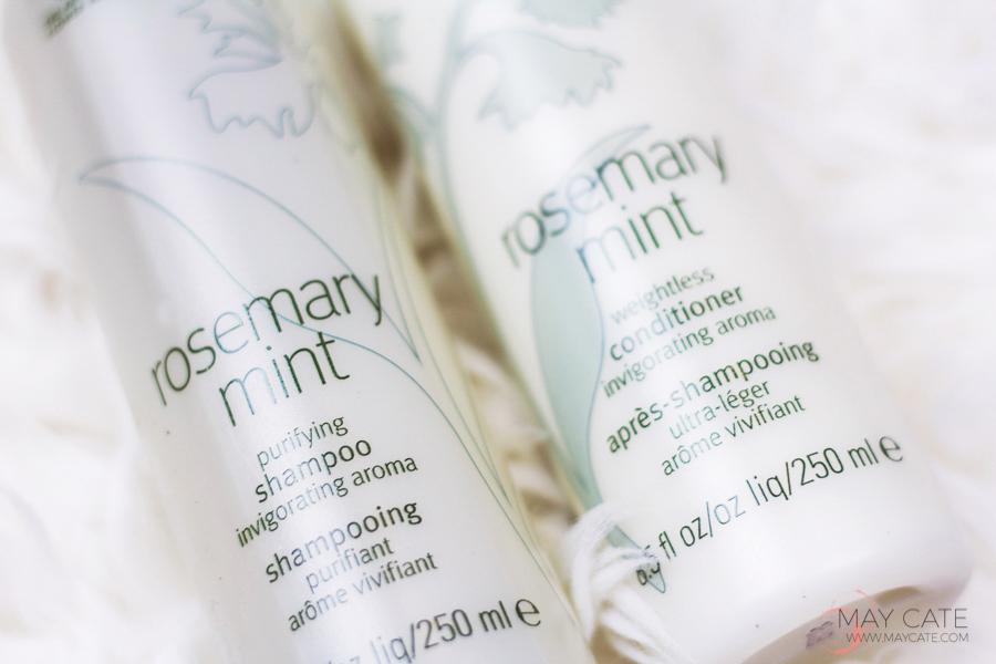 aveda mint rosemary shampoo en conditioner