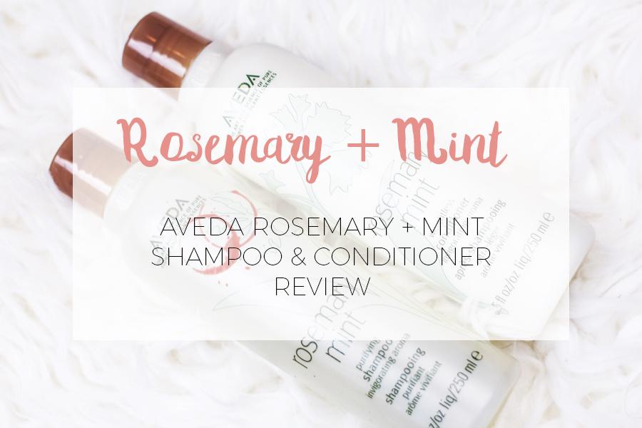 Aveda rosemary mint shampoo conditioner