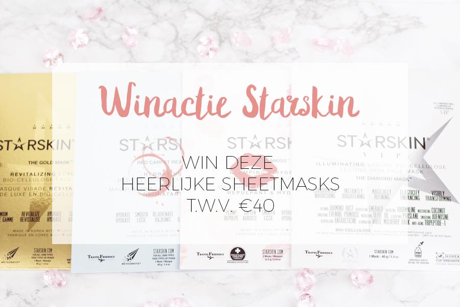 Winactie starskin sheet maskers