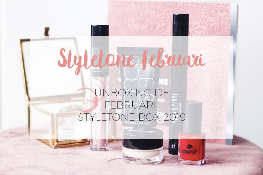 UNBOXING STYLETONE FEBRUARI BOX