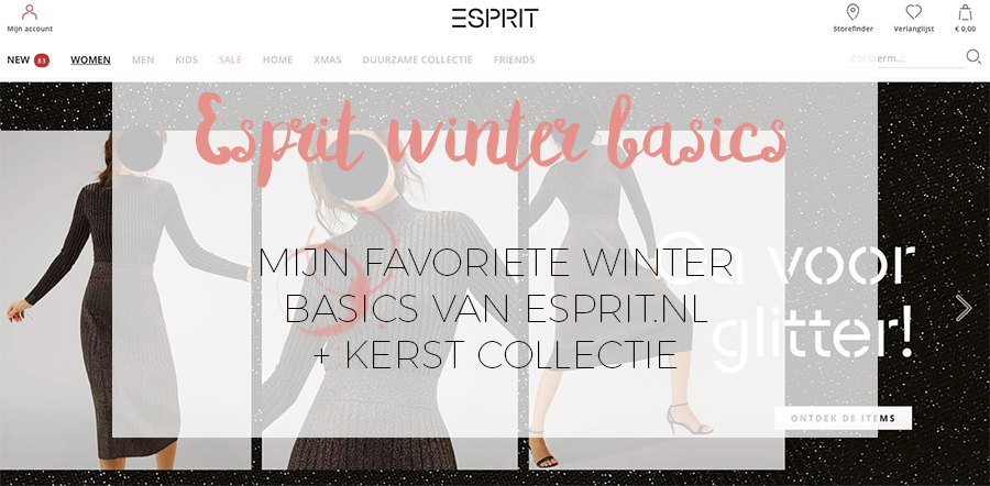 FAVORITE WINTER BASICS VAN ESPRIT