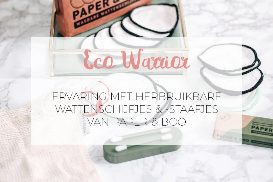 ECO WARRIOR MET PAPER & BOO HERBRUIKBARE WATTENSCHIJFJES WATTENSTAAFJES